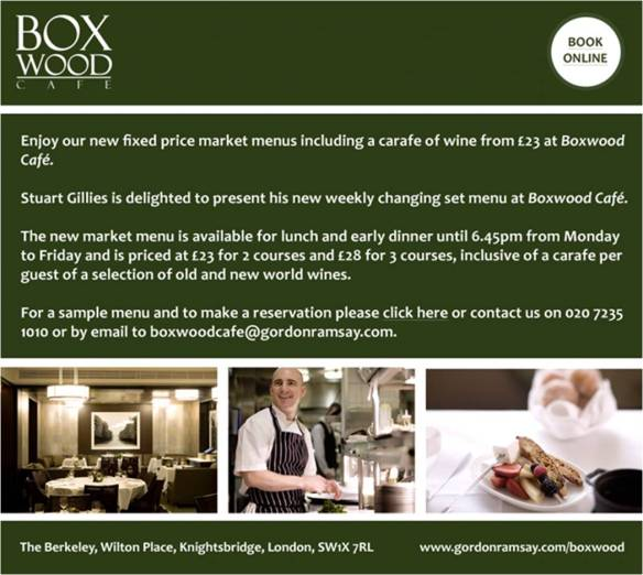 Boxwood Offer