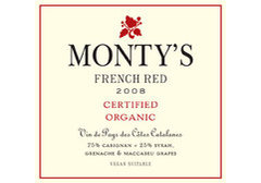 The new (2nd) vintage of Monty's red and white is out - get it while you can!