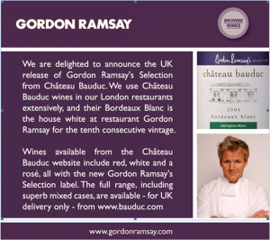 The 10% discount on a £49.95 case of Ramsay Selection Six is good value