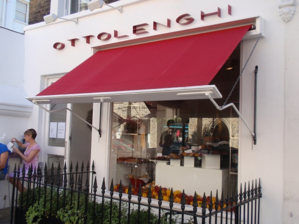 Storefront of Ottolenghi in Westbourne Grove / Notting Hill