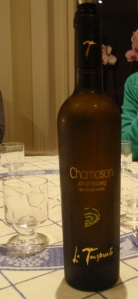 2007 Chomoson Johannisberg (La Tourmente): one of the nicer little sweet wines I've had in a while - but good luck finding it outside of Switzlerand (they only export 3% of their wine!)