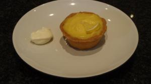 A re-creation of the famed Ottolenghi lemon & marscapone tart