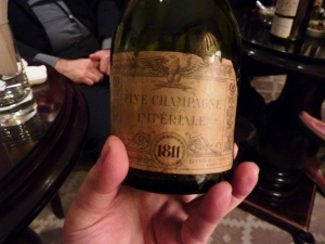 The Imperiale 1811: one of the many rare & exotic liquers on hand at Dukes