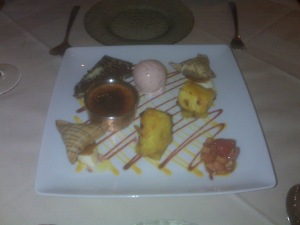 Gourmet Dessert Platter for 2