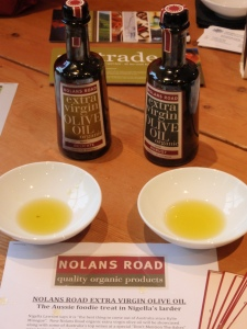 Some of the Nolans Road organic olive oils I liked