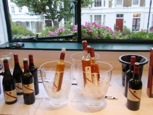 d'Arenberg's area at the tasting