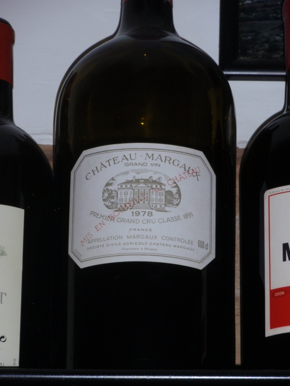 Fandango also had a shelf of very nice mangums and jeroboams - would have liked to have gotten some of this but didn't have the $10,000+ it probably would have costed...