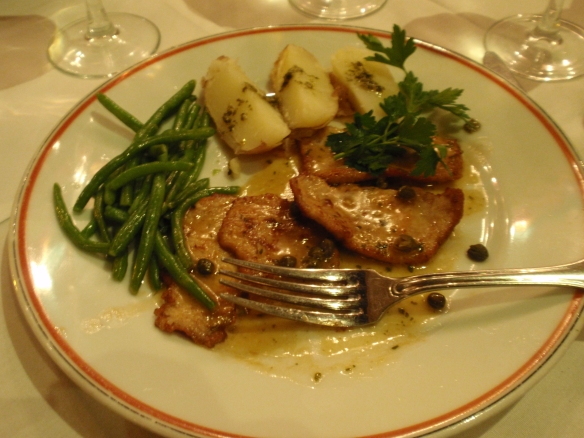 Their version of Veal Picatta was truly exceptional...extremely thin and tender veal with an amazing tangy sauce - absolutely loved it
