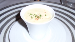 Amuse Bouche: Lobster & Avocado 'Soup'