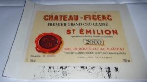 2000 Chateau Figeac (St. Emilion, Bordeaux)