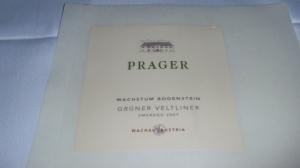 2007 Prager Grüner Veltliner (Wachua, Austria)