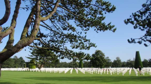 The Normandy Amiercan Cemetery & Memoria