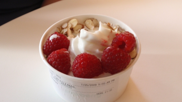 Pinkberry - Almond & Strawberry