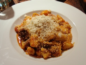 Potato gnocchi with sausage ragù (small)