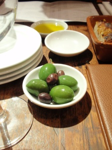Amazingly tasty, buttery green olives