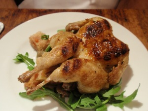 Grilled quail with tomato panzanella (small)