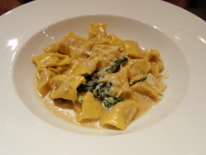 Veal & pork agnolotti with butter & sage (small)
