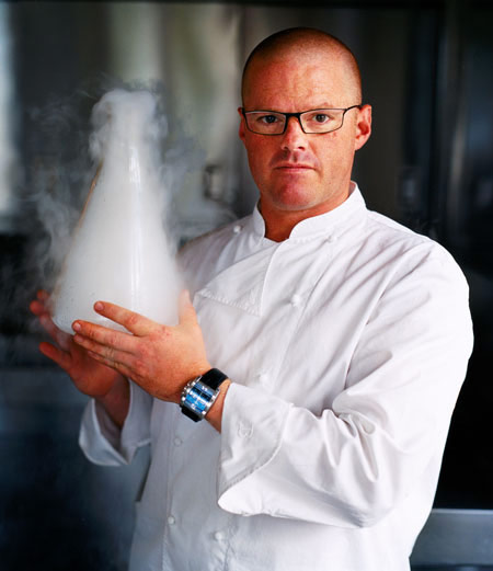 Heston Blumenthal: a man on a mission