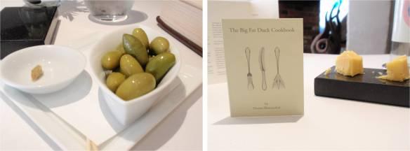 Rather nice green olives...but even nicer butter