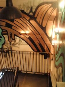 Jamie's Italian - Grafitti in Stairwell
