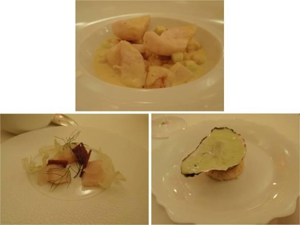 main course 2 - scallops & john dory