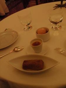 dessert: saffron nonette