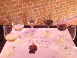 oz clarke five wines for tasting