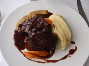 Main Course 1: Eric Chavot's Special of Braised Beef Cheeks