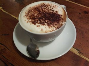 dry cappuccino at monmouth