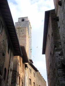 some towers in san gimignano