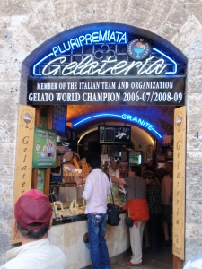 pluripremiata gelato - the best in tuscany? maybe...