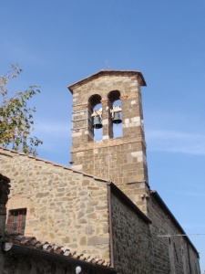 church bells ringing in montalcino