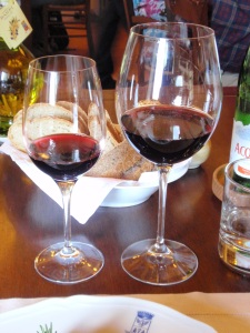 castello banfi wines at taverna dining room