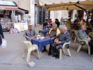 three old men in perugia