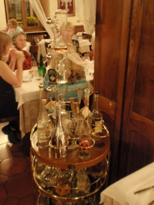 grappa contraption at ristorante fiorentino