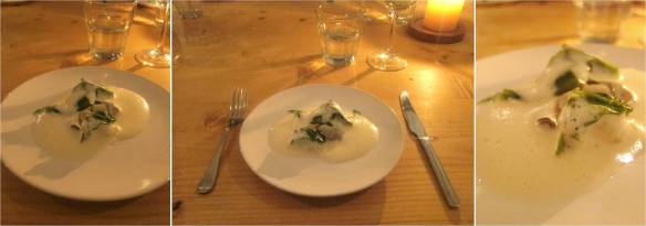Course 6: Poached Oyster, Potato & Seaweed