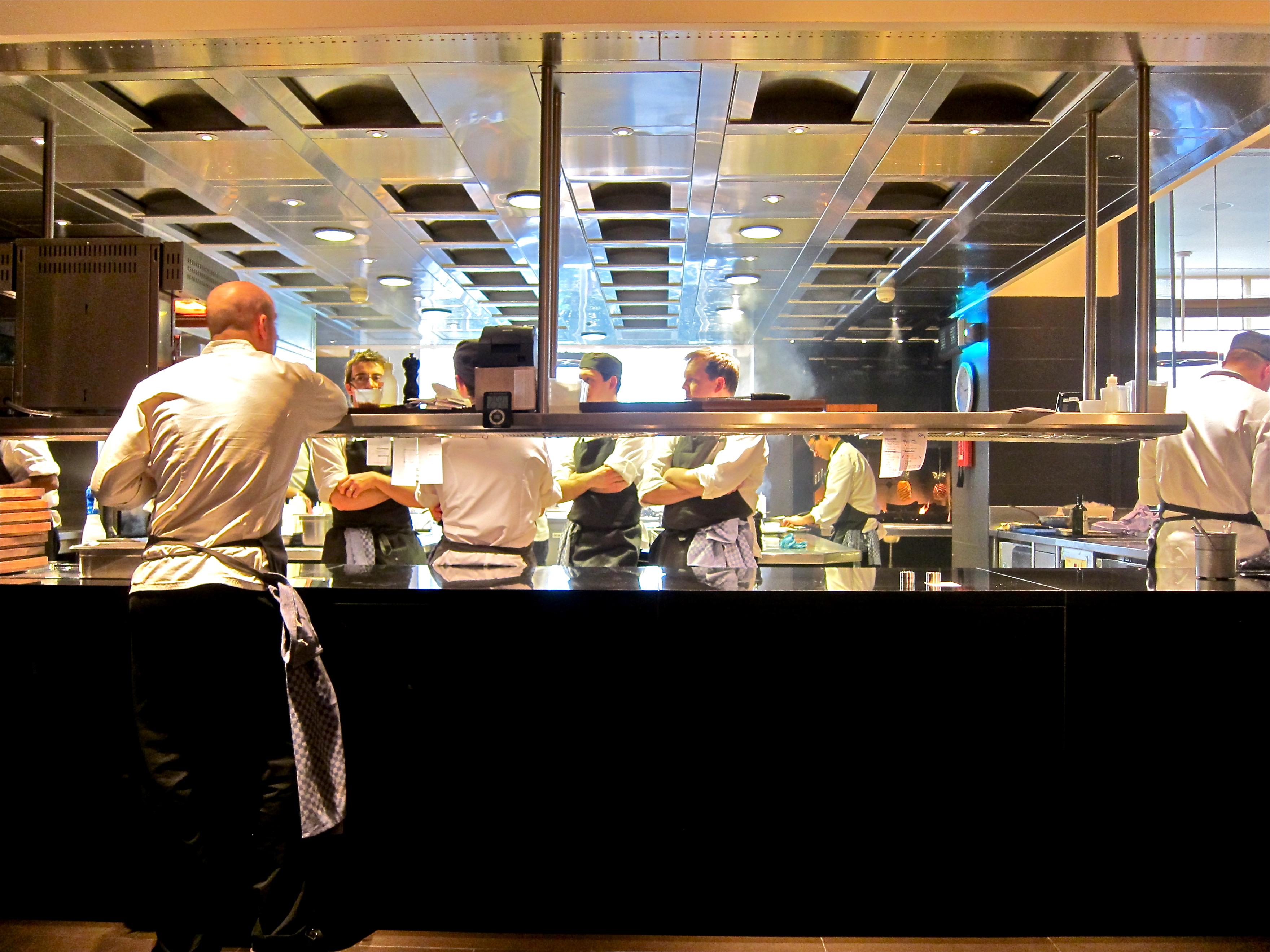 Restaurant Kitchen Pass salamugundy | laissez fare