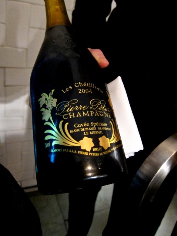 """Pierre Péters Cuvée Spéciale """"Les Chétillons"""" Champagne 2004"""